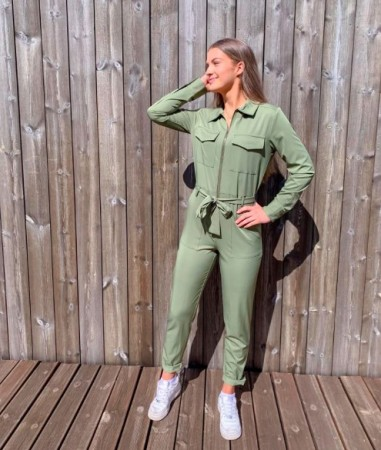 Sisters Point - Emmi jumpsuit / grønn
