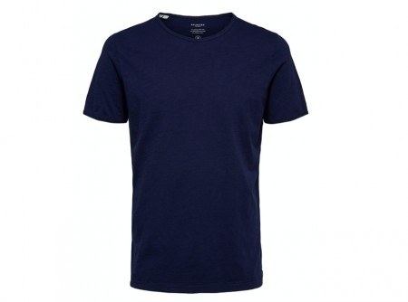 Selected Homme - Morgan ss tee / Blå