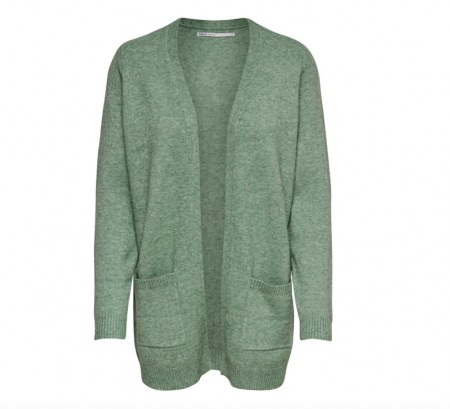 Only - Lesly l/s open cardigan / Basil
