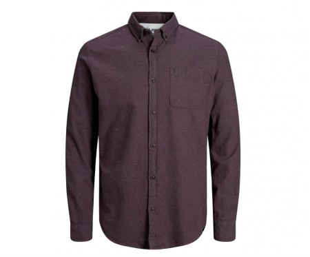 Jack & Jones - melange shirt / port royale