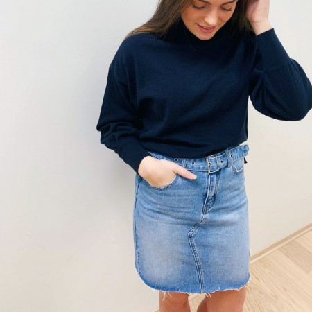 Only - Signe Short Denim Skirt