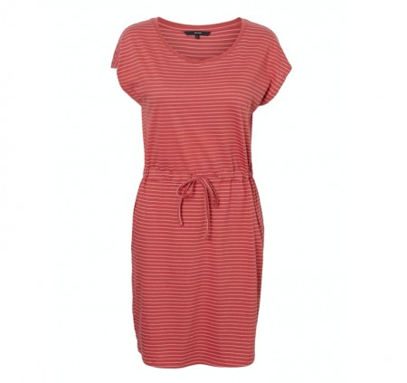 Vero Moda - April short dress / Marsala stripes rebecca