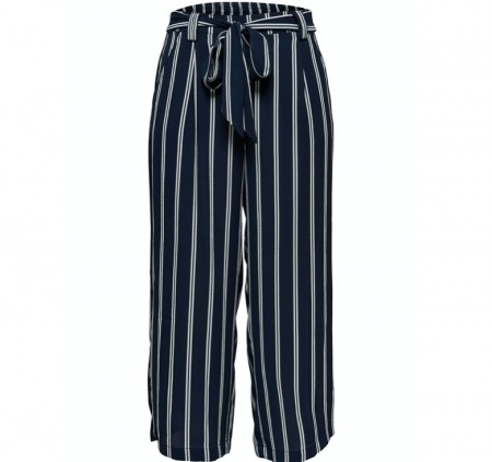 Only - Winner palazzo culotte / stripes
