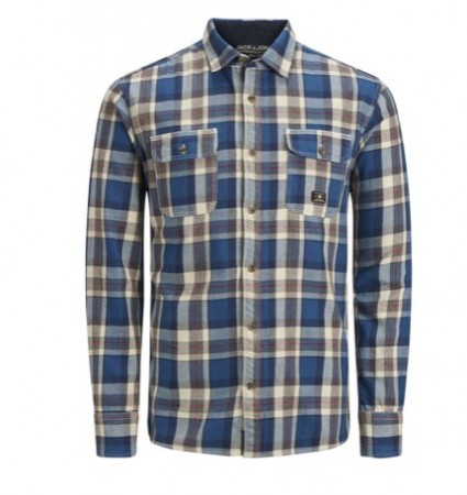 Jack & Jones - Luke Shirt / Blå