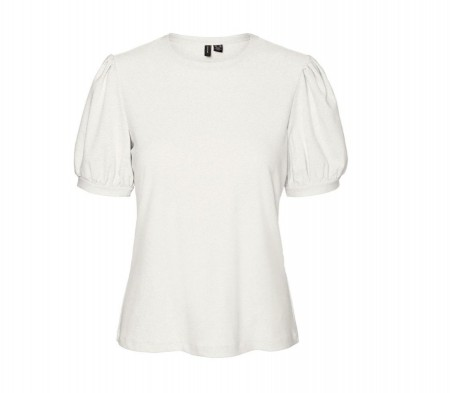 Vero Moda - vmmilla ss top / snow white