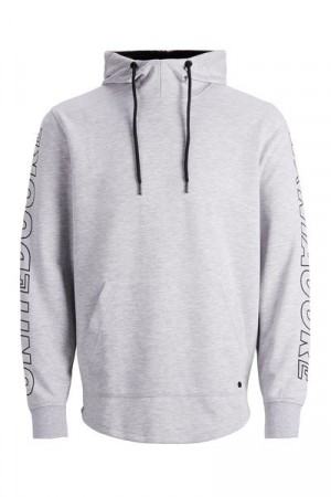 Jack & Jones -  Band Sweat Hood / grå