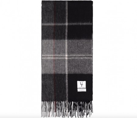 Urban Pioneers - Bea Check Scarf / Sort