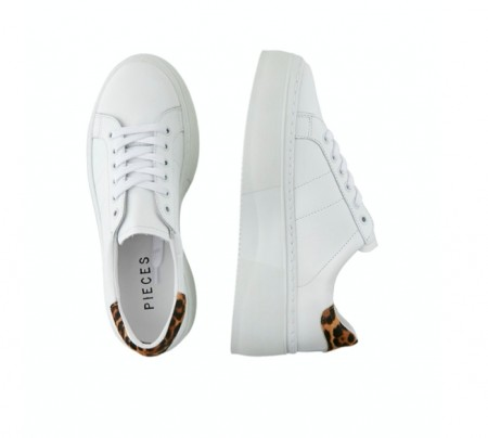 Pieces - Andrea leather sneaker