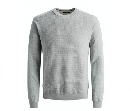 Jack & Jones - Blasheran knit / Grå