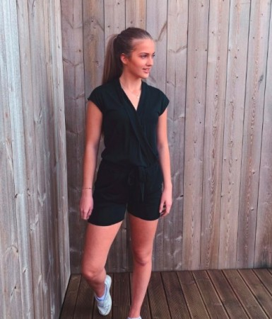 Freequent - Mika playsuit / Sort