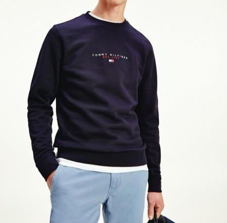 Tommy Hilfiger - Essential Tommy Crew / Navy
