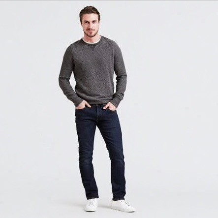 Levis -  511 Slim Fit Zebroid