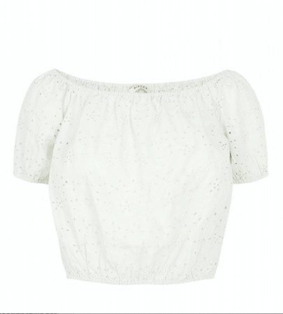 Pieces - mammea cropped top