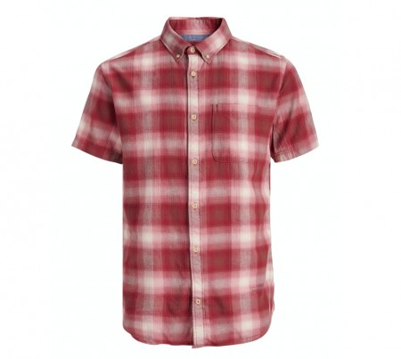 Jack & Jones - Bluhunter shirt / Red dalhia