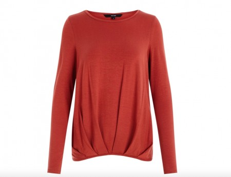 Vero Moda -  Ava pleat top