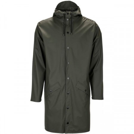 Rains Long Jacket / Green