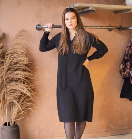 Nectar - Una knit dress / Black