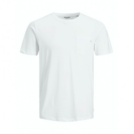 Jack & Jones - Jjepocket tee / White