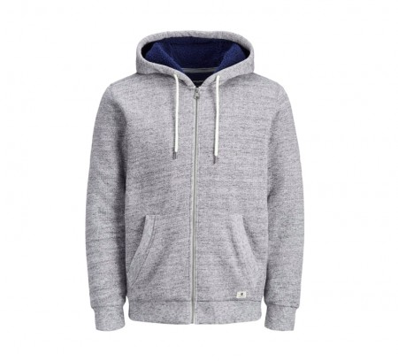 Jack & Jones - Jason sweat hood / Grå