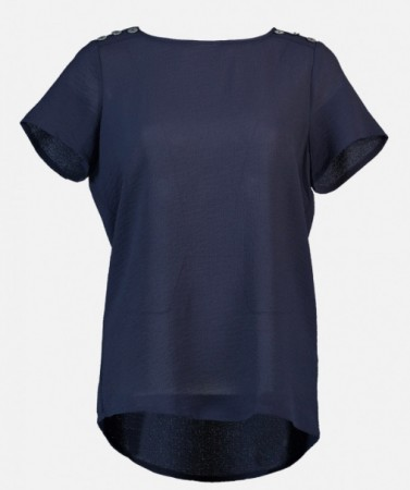 Fransa - Jasolid 1 blouse / Navy