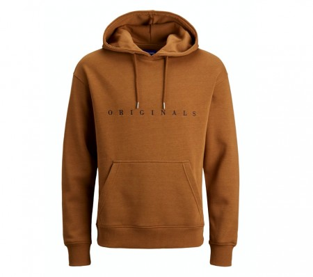 Jack & Jones - Copenhagen sweat hood / Rubber