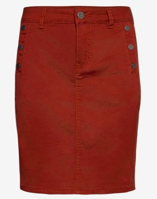 Fransa - Frlomax 3 Skirt / Barn red
