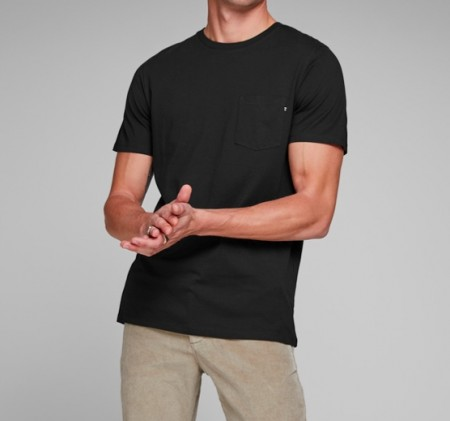 Jack & Jones - Pocket tee / Sort