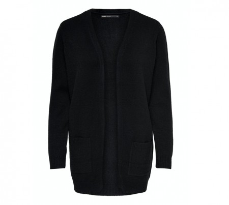 Only - Lesly open cardigan / Black