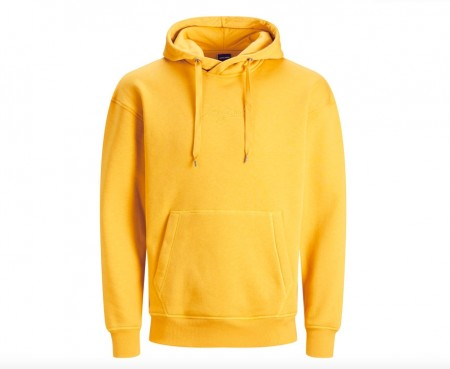 Jack & Jones - Newtop sweat hood / Gul