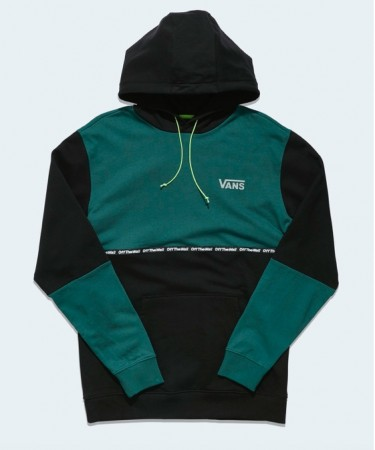Vans - taped colorblock hoodie