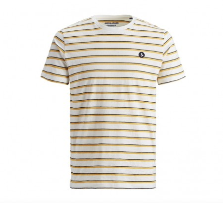 Jack & Jones - stanford tee / off white