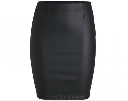 Pieces - Paro Coated Skirt