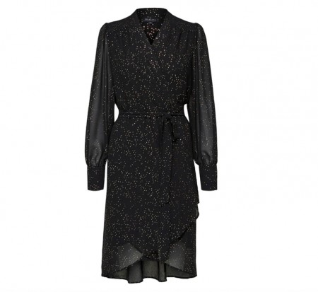 Selected Femme - Fanya ls wrap dress
