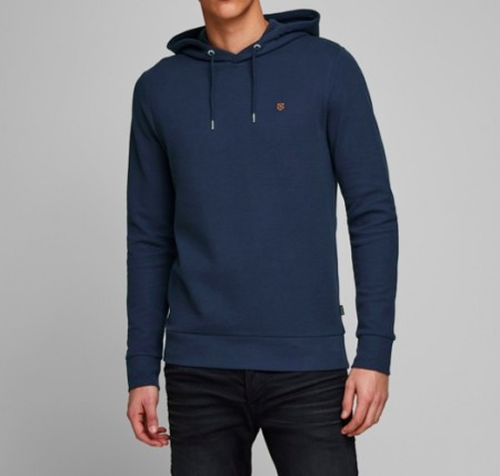 Jack & Jones - blahardy sweat hood / Blå