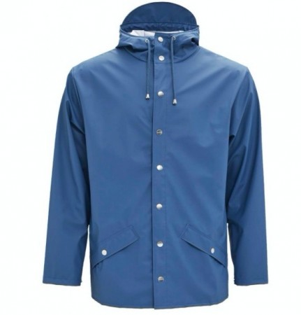 Rains Short Jacket / Faded blue