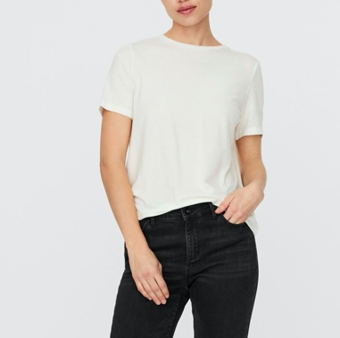 Vero Moda - Vmava ss top / Off white