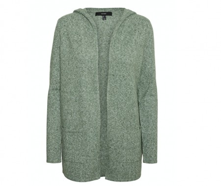 Vero Moda - Doffy hood cardigan / Laurel wreath