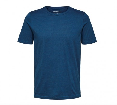 Selected Homme - Theperfect tee mel / Blå