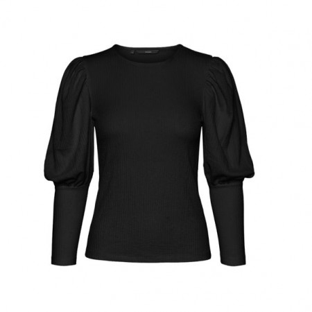 Vero Moda - Sie puff top / Sort