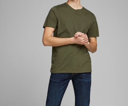 Jack & Jones - Pocket tee / Grønn