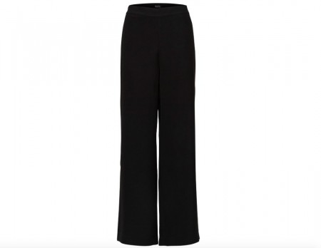 Selected Femme - Tulla Mw Wide Pant / svart