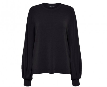 Selected Femme - Tea ls sweat / svart