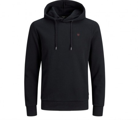 Jack & Jones - blahardy sweat hood / Sort