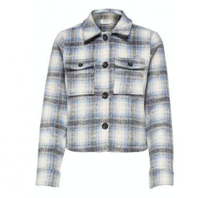Only - Short Check Jacket