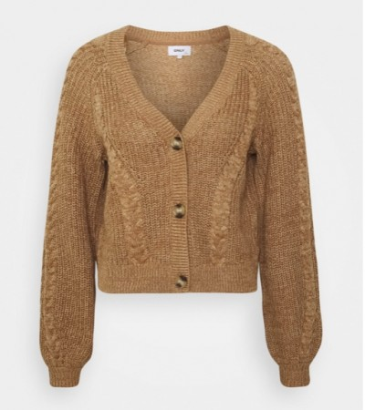 Only - rosie life cardigan / Toasted coconut