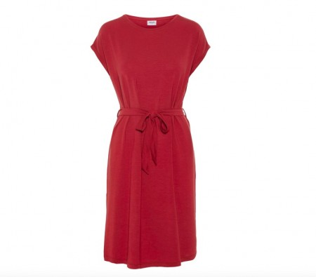 Vero Moda - Ava plain dress / Rust