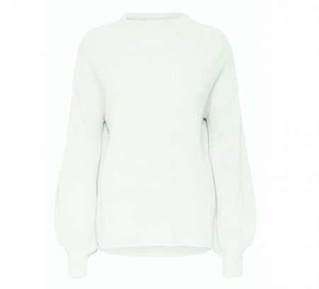 Only - New siff bell pullover / Hvit