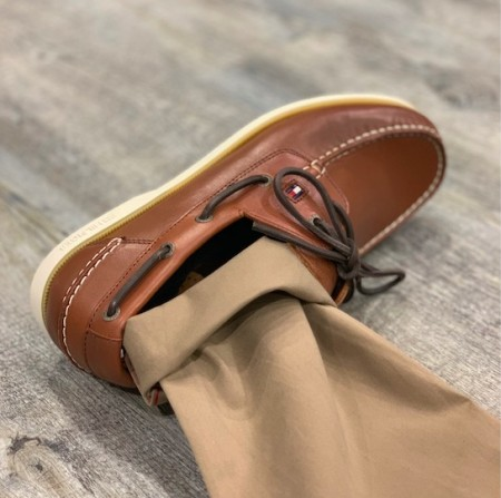 Tommy Hilfiger - Leather Boatshoe