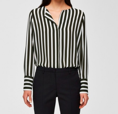 Selected Femme - Dynella  shirt / stripes rosin