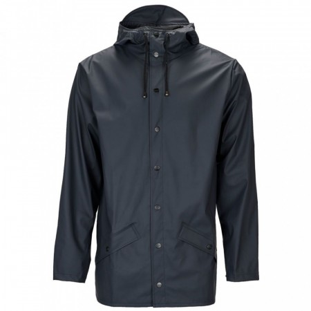 Rains short jacket / blue